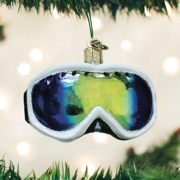 Ski Goggle Christmas Ornament
