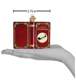 Old World Christmas Twas The Night Before Christmas Ornament