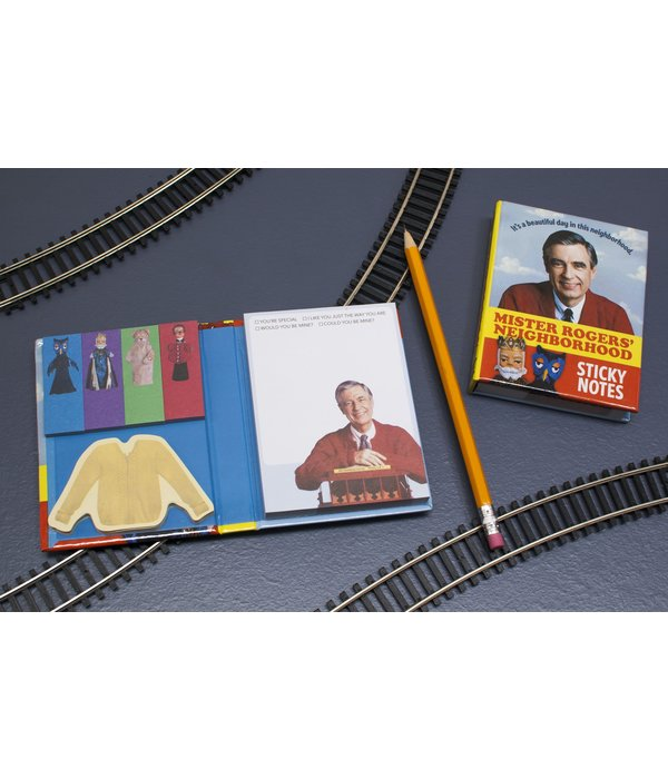 Mr. Rogers Sticky Notes