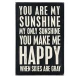 Primitives Primitives Postcard- You Are My Sunshine