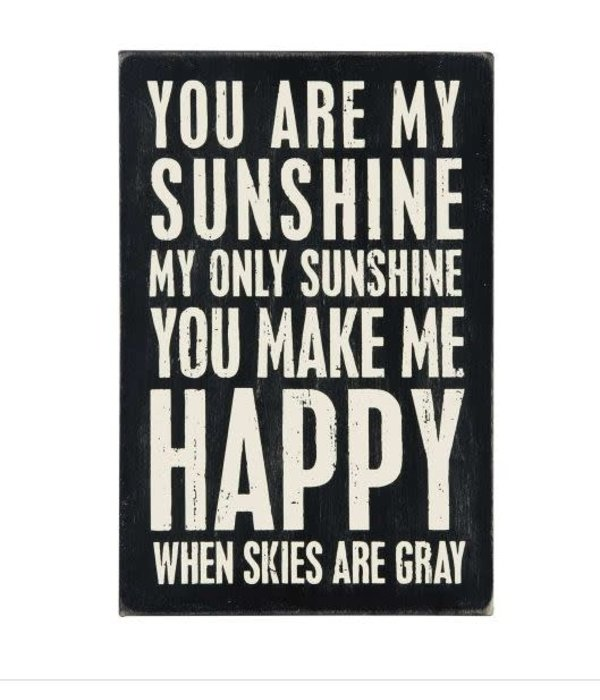 Primitives Primitives Postcard- You Are My Sunshine