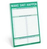 Knock Knock- Make Shit Happen Notepad
