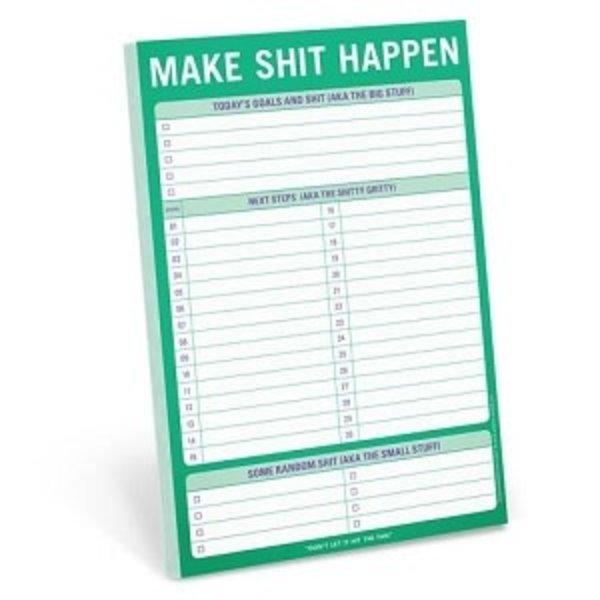Make Shit Happen Notepad