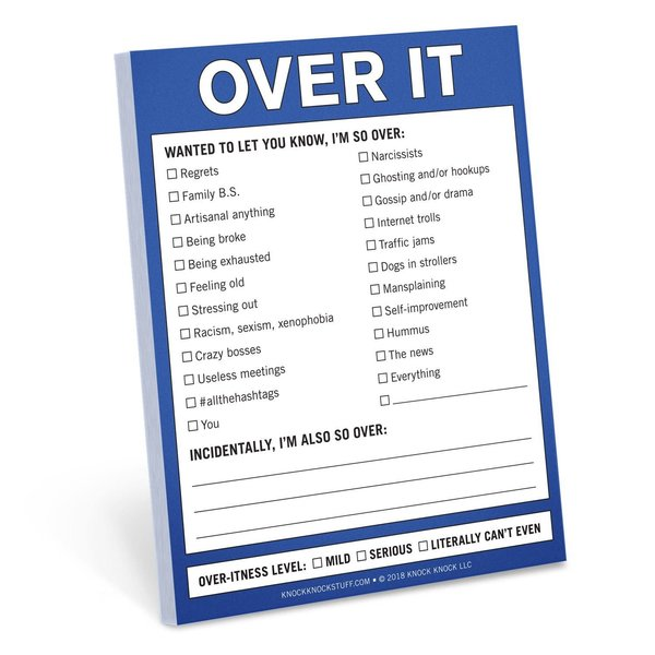 Over It Notepad