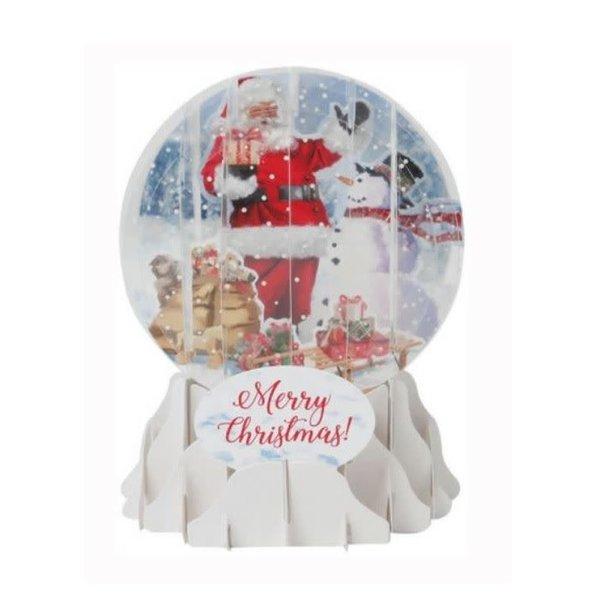 Santa And Snowman Pop-Up Card