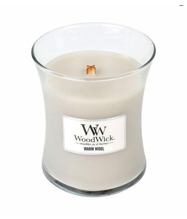 Woodwick- Warm Wool 10 oz