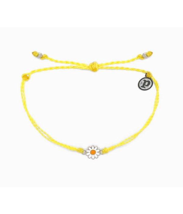Pura Vida Puravida Bracelet- Daisy Yellow
