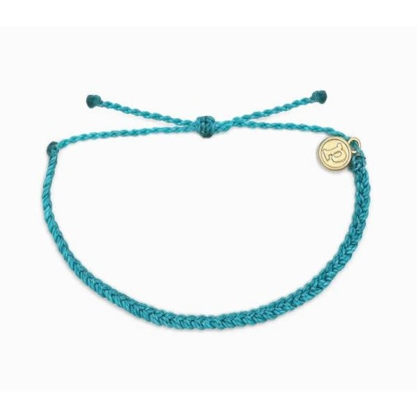 Puravida Blue Braid Bracelet