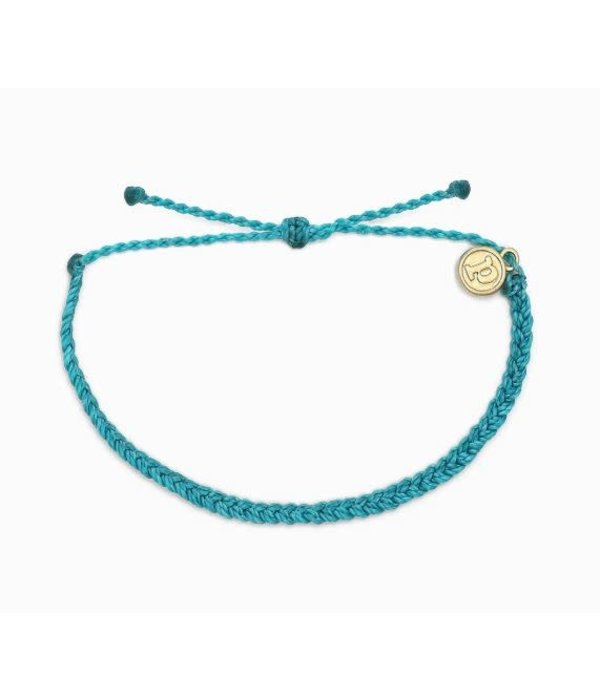 Pura Vida Puravida- Pacific Blue Mini Braid Bracelet