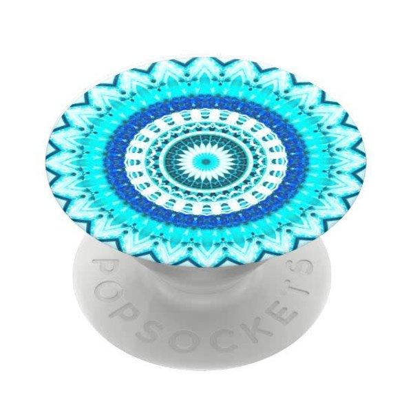 Blue Floral Mandala Popsocket