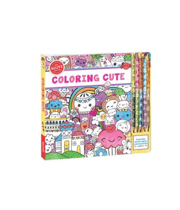 Klutz- Coloring Cute