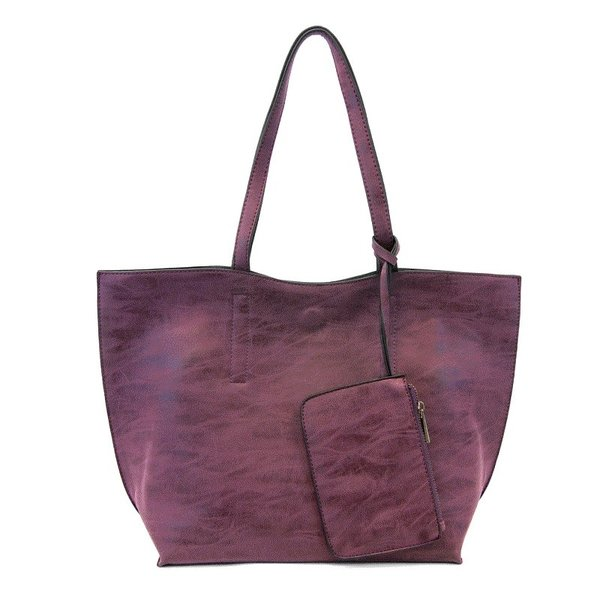 Carly Brushed Reversible Tote
