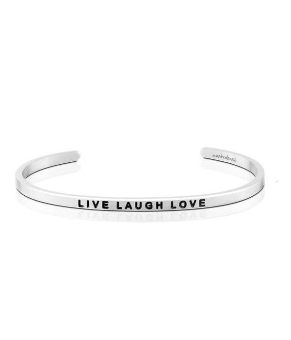 Mantraband- Live Laugh Love