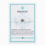 My Saint My Hero- Breathe Blessing Bracelet