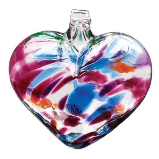Kitras Glass Heart Glass Ornament
