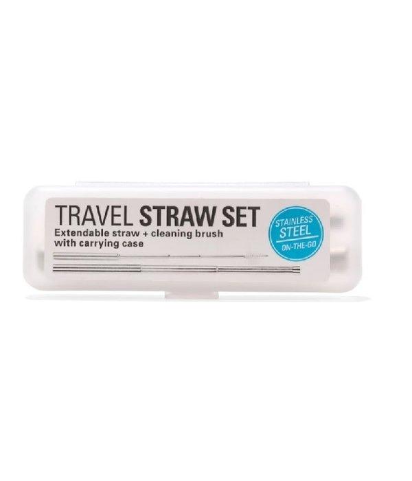 Travel Straw Set