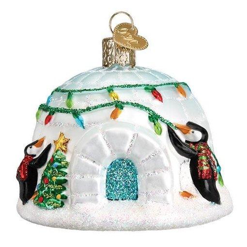 Old World Christmas Igloo Ornament
