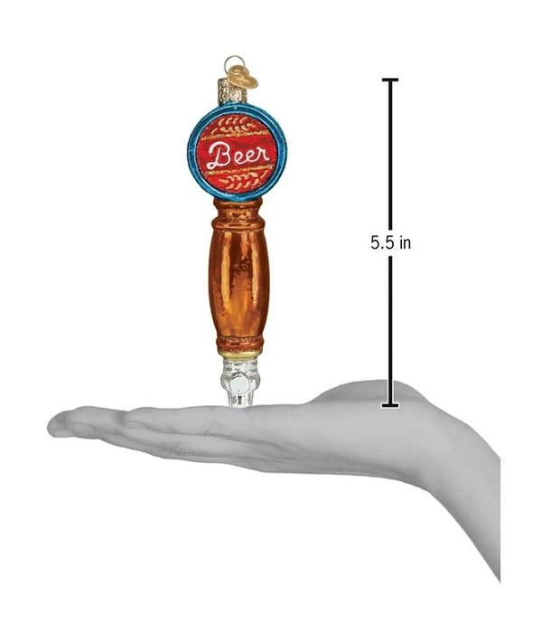 Beer Tap Ornament by Old World Christmas