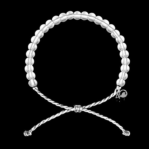 Polar Bear White Bracelet by 4 Ocean