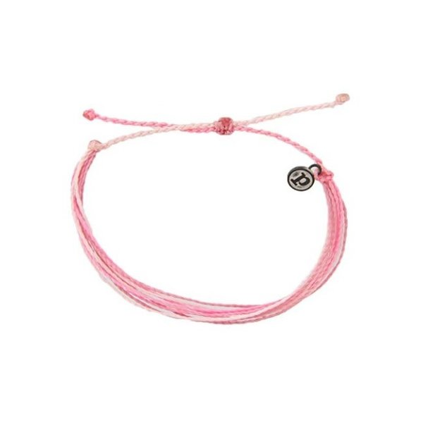 Pura Vida charity breast cancer Bracelet