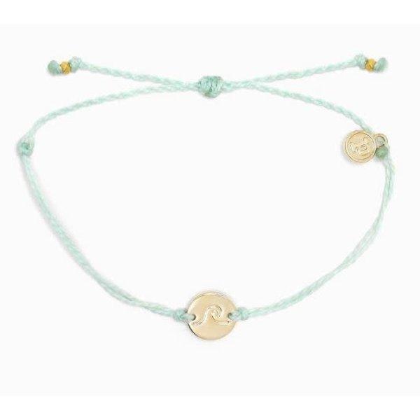 Pura Vida Charm Coin Wave Gold winterfresh Bracelet
