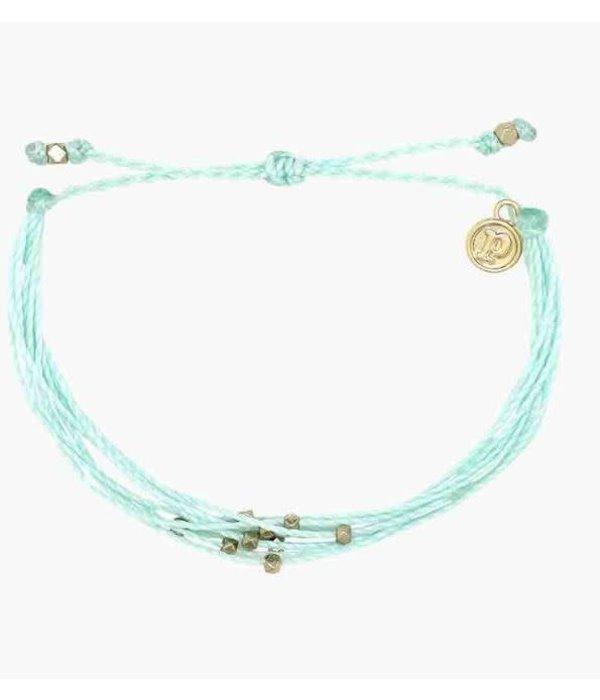 Pura Vida Classic Malibu Gold Winterfresh Bracelet by Pura Vida