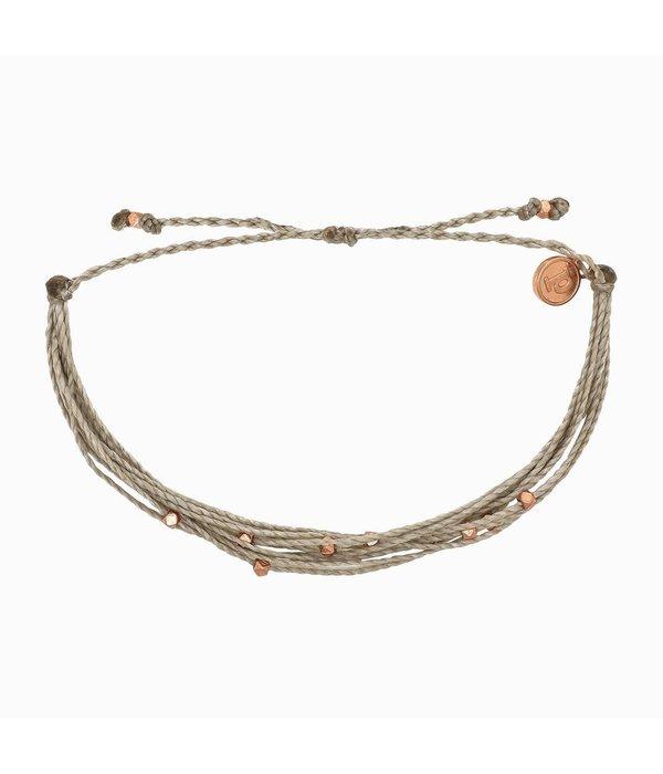 Pura Vida Classic Malibu Rose Gold Sandalwood Bracelet by Pura Vida