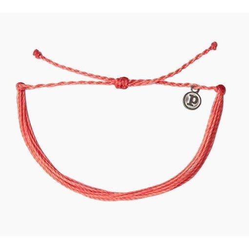 Pura Vida Pura Vida Original Solid Coral Bracelet