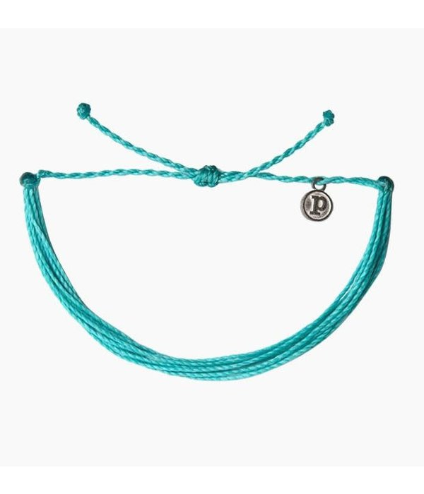 Pura Vida Original Solid Pacific Blue Bracelet by Pura Vida