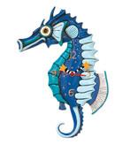Allen Designs Allen Designs- Salty Seahorse Clock