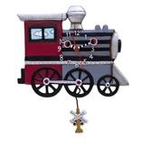 Allen Designs Allen Designs- Choo Choo Train Clock