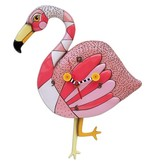Allen Designs Allen Designs- Crazy Legs Flamingo Clock