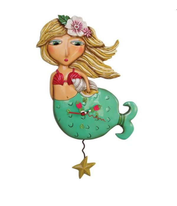 Allen Designs Allen Designs- Shelley Mermaid Clock