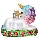 Old World Christmas- Baby Unicorn Ornament