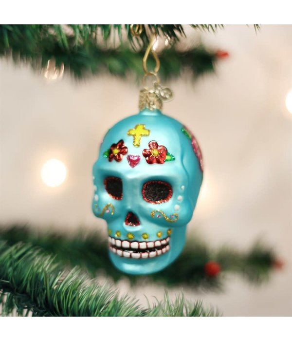 Old World Christmas- Day Of The Dead Ornament