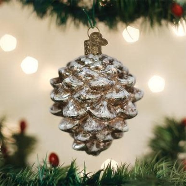 Vintage Pinecone Ornament