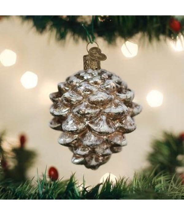 Old World Christmas- Vintage Pinecone Ornament
