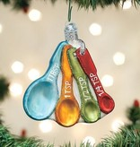 Old World Christmas Old World Christmas- Measuring Spoons Ornament