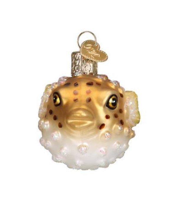 Old World Christmas Old World Christmas- Pufferfish Ornament