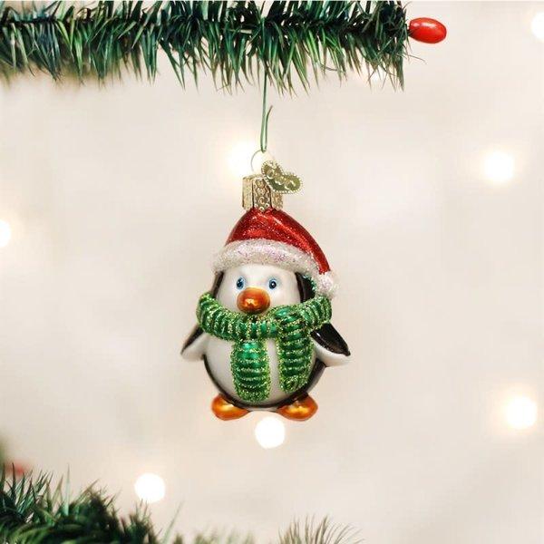 Playful Penguin Ornament