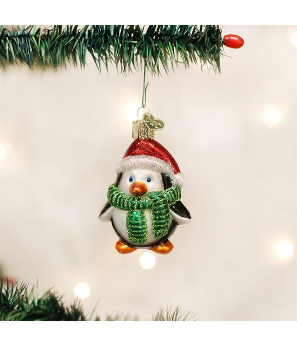Old World Christmas- Playful Penguin Ornament