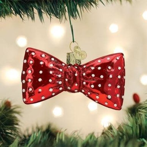 Old World Christmas Bowtie Ornament