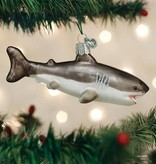 Old World Christmas Old World Christmas- Great White Shark Ornament