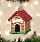 Old World Christmas- Dog House Ornament
