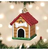 Old World Christmas Old World Christmas- Dog House Ornament