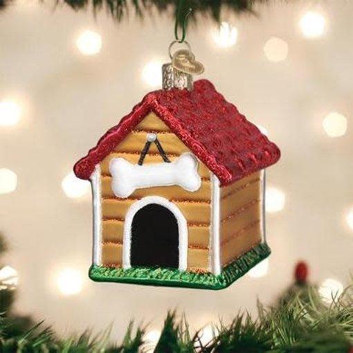 Old World Christmas Dog House Ornament