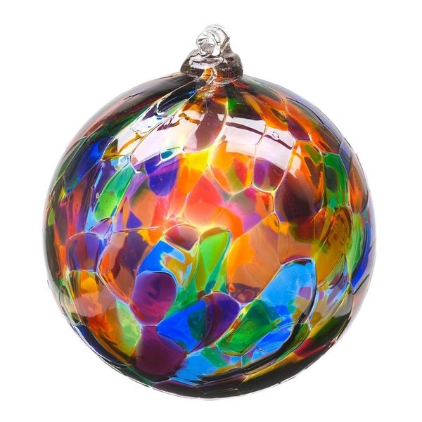 Calico Glass Ball