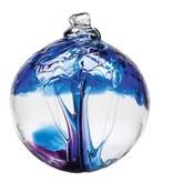 Kitras Glass Kitras Tree Of Winter Glass Ball 2in
