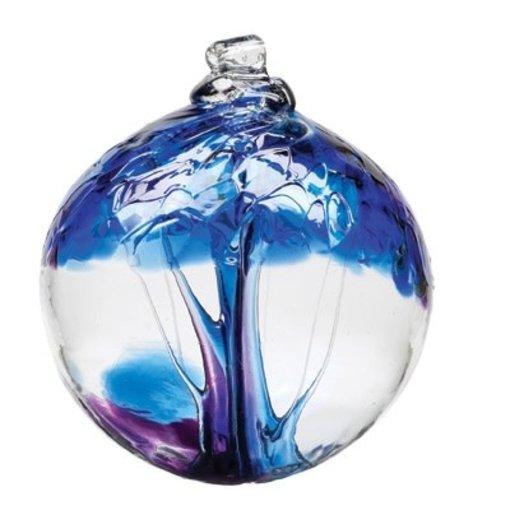 Kitras Glass Tree Of Winter Glass Ball