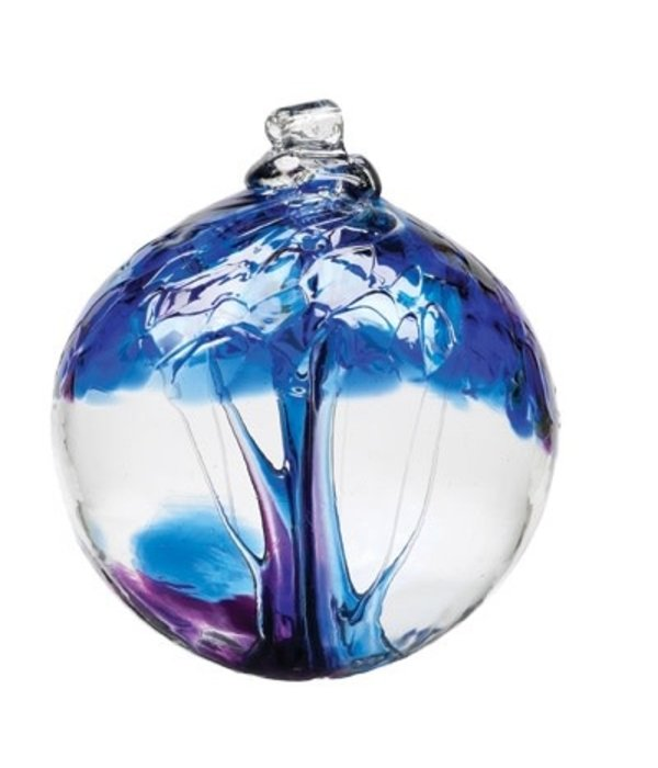 Kitras Glass Kitras Tree Of Winter Glass Ball 2in